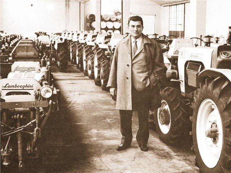 Под знаком тельца: как Феруччо Ламборгини прошел путь от производителя тракторов до суперкаров
