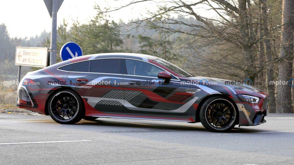 Новый Mercedes-AMG GT 73e станет самым мощным серийным авто в истории бренда