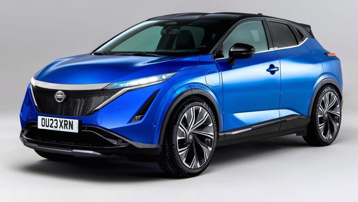 Nissan выпустит ещё один электрокроссовер