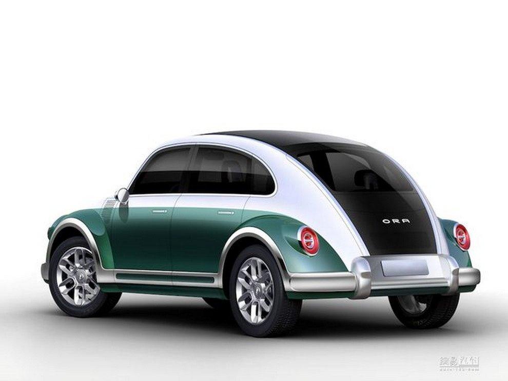 Китайцы возродили классический Beetle под крайне странным названием