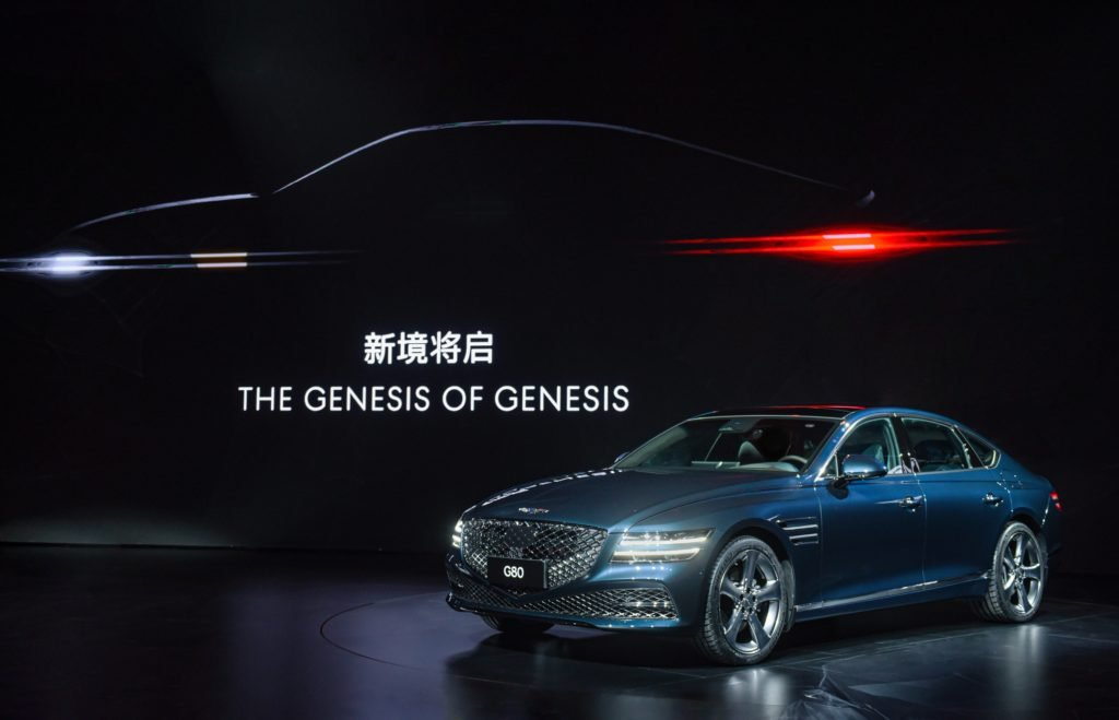 Genesis вышел на рынок Китая с мировым рекордом
