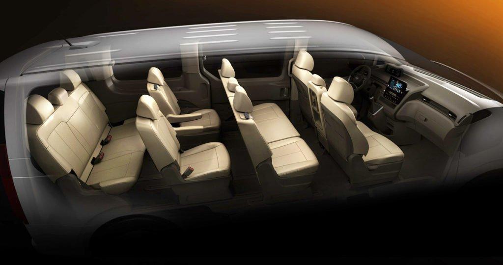 11 мест, космический дизайн и мотор V6: Hyundai привезет в Россию невероятно крутой минивэн Staria