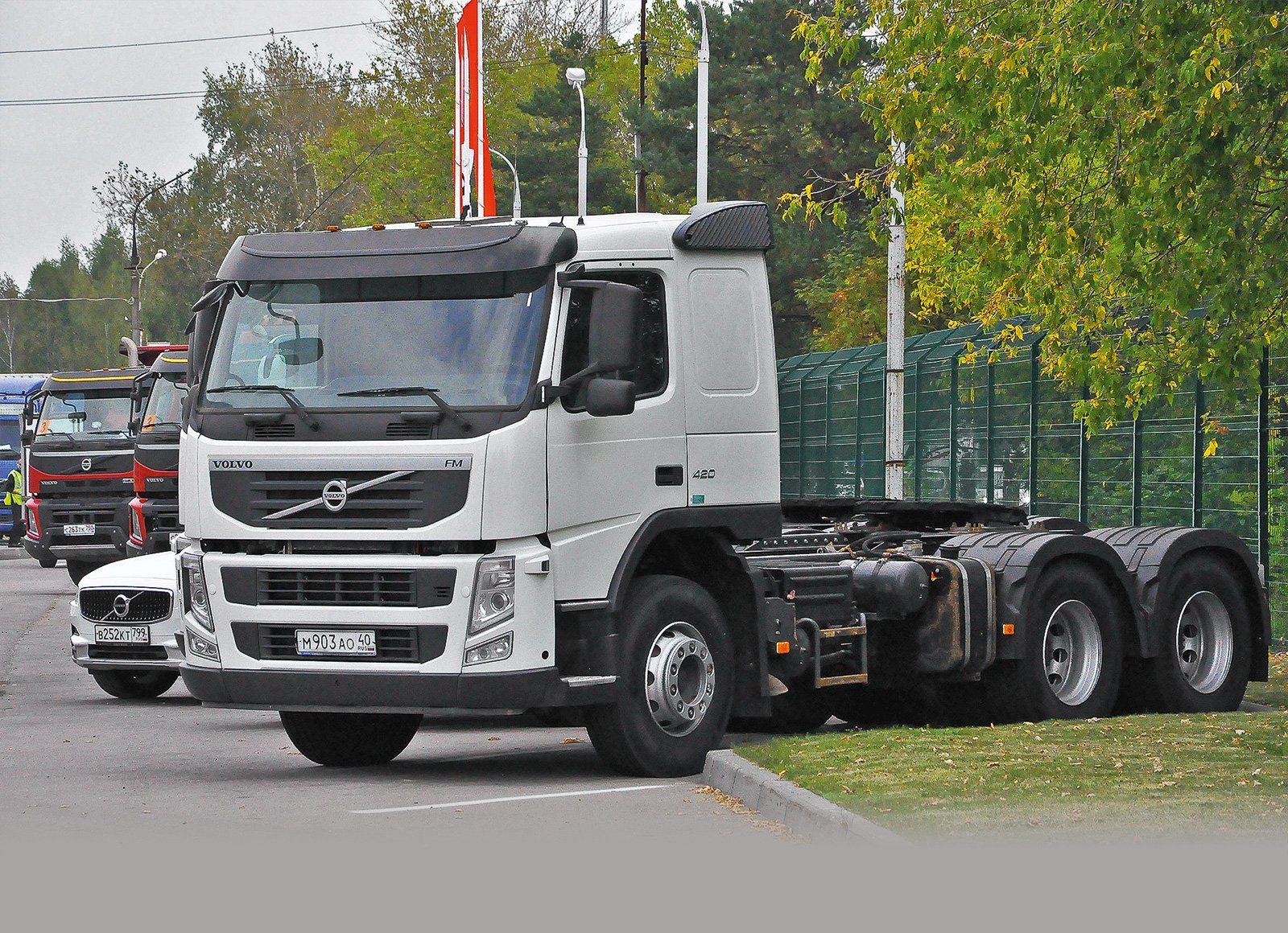 Как работает СТО, где ремонтируют и обслуживают грузовики Volvo Trucks