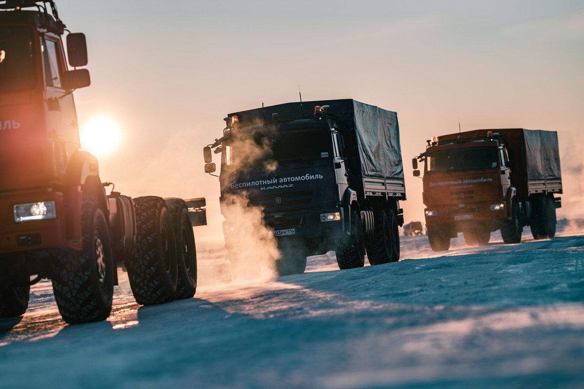 КАМАЗ планирует начать беспилотные перевозки к 2025 году