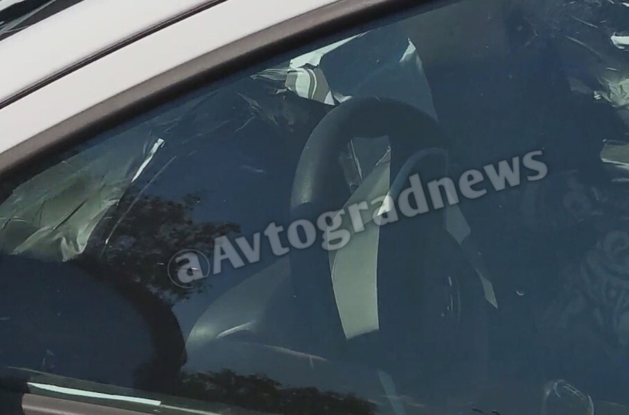 Появились первые фото обновлённой версии Lada Vesta FL