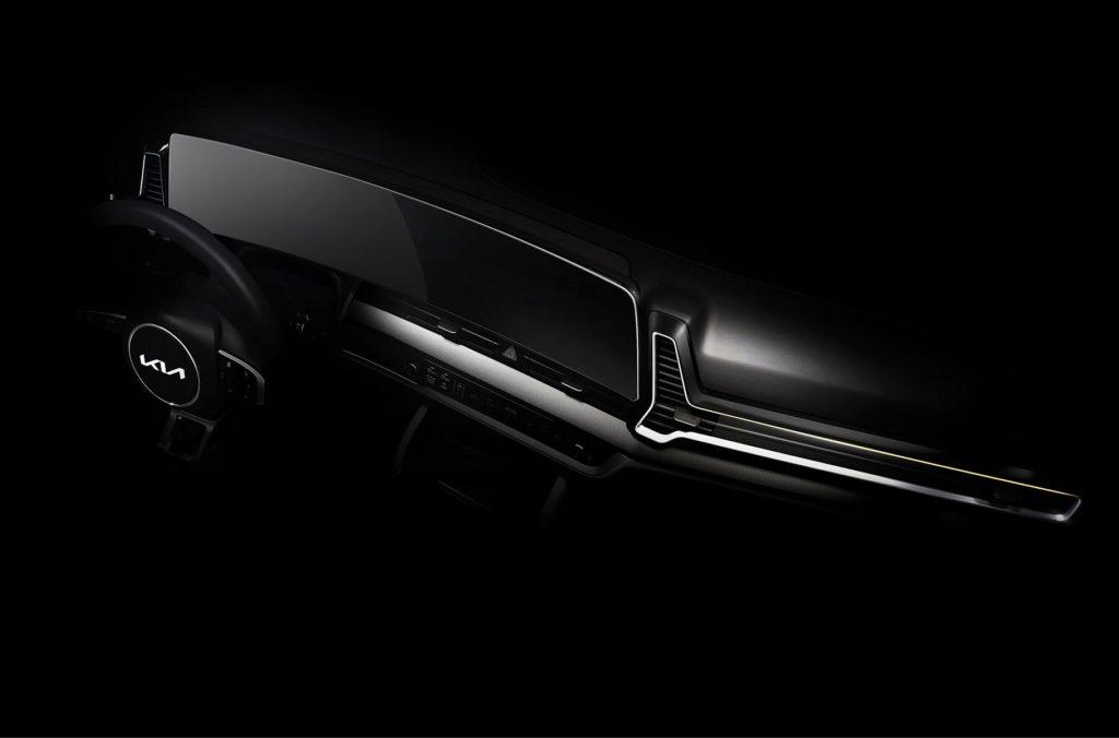 Kia раскрыла новый кроссовер Sportage на первых изображениях