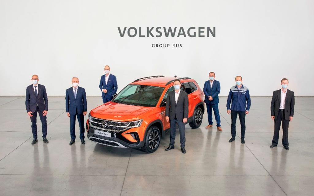 В России стартовало производство кроссовера Volkswagen Taos