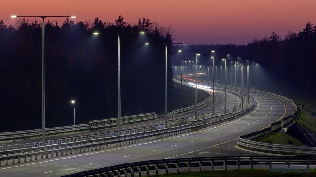 Некоторые участки трассы М-11 поедут со скоростью 130 км/ч