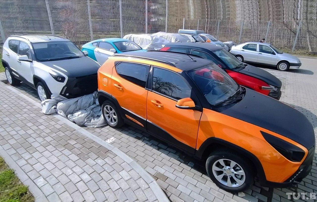 Брошенные прототипы проекта «Ё-мобиль» Михаила Прохорова обнаружили в Беларуси (много фото)