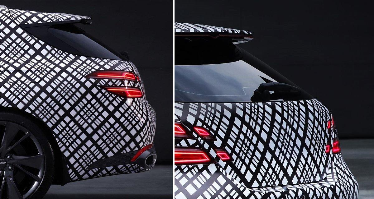 Genesis показал модель с необычным кузовом
