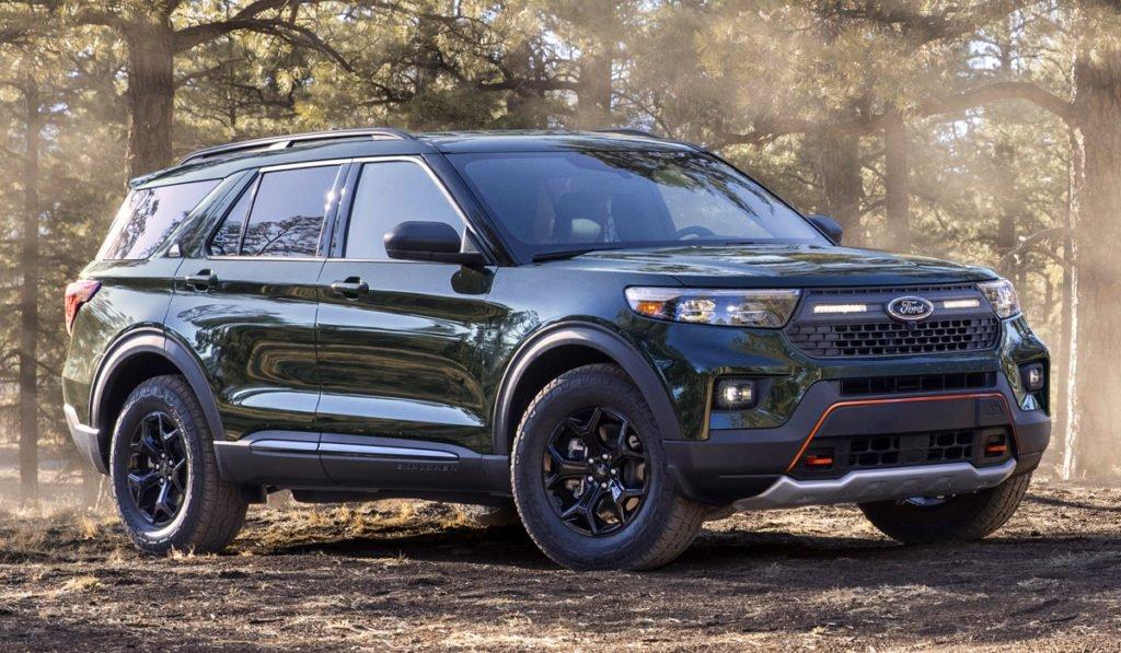 Новый Ford Explorer получил внедорожную версию Timberline