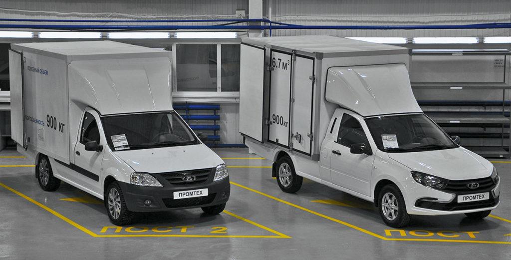 Какие фургоны делают на базе Lada: везут почти тонну, а стоят гораздо дешевле ГАЗели