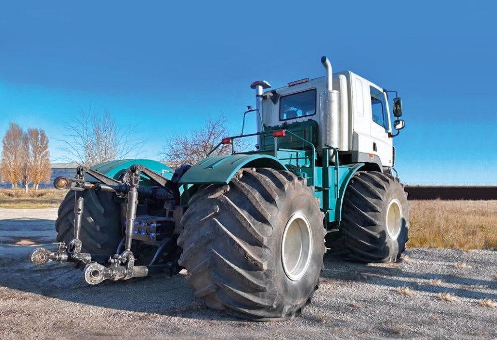 Как из грузовика сделать трактор: вы удивитесь