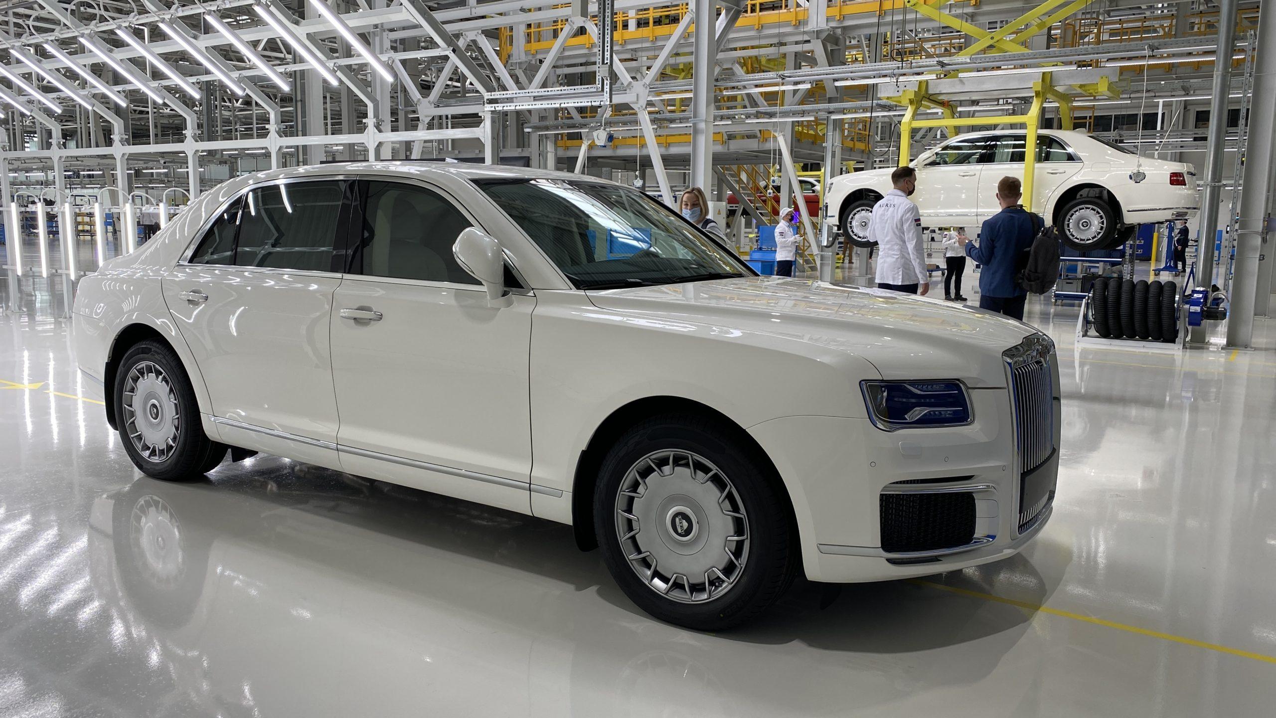 В России стартовало серийное производство Aurus Senat