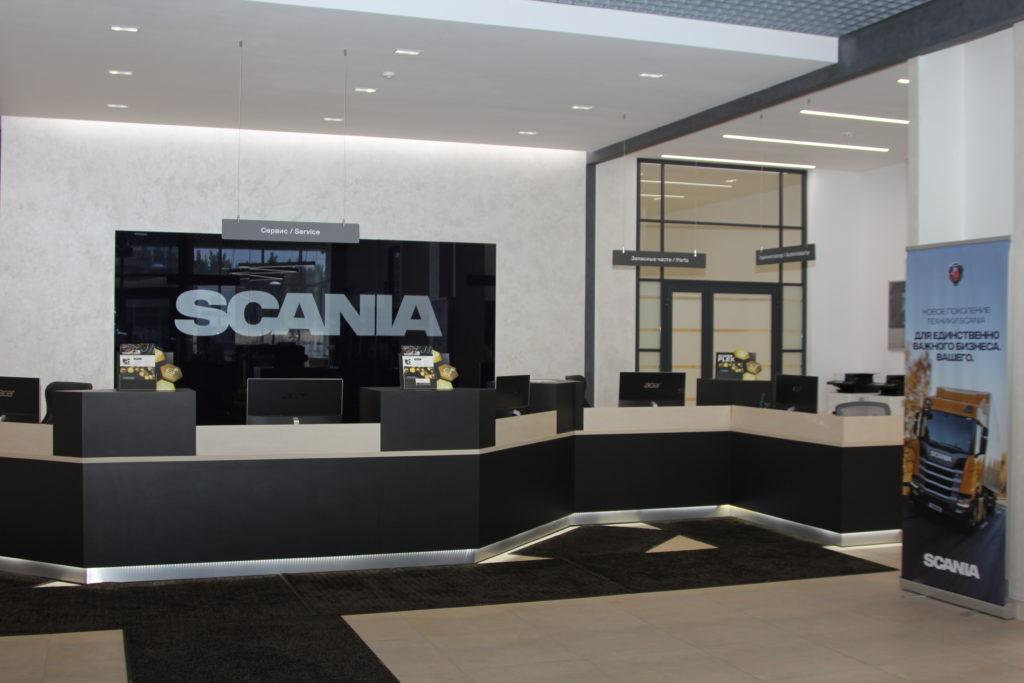 В Нижегородской области состоялось торжественное открытие дилерской станции Scania