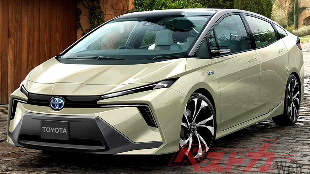 Toyota показала на видео новый гибридный Prius