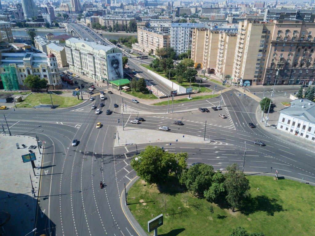 На Таганской площади Москвы вновь изменят схему движения