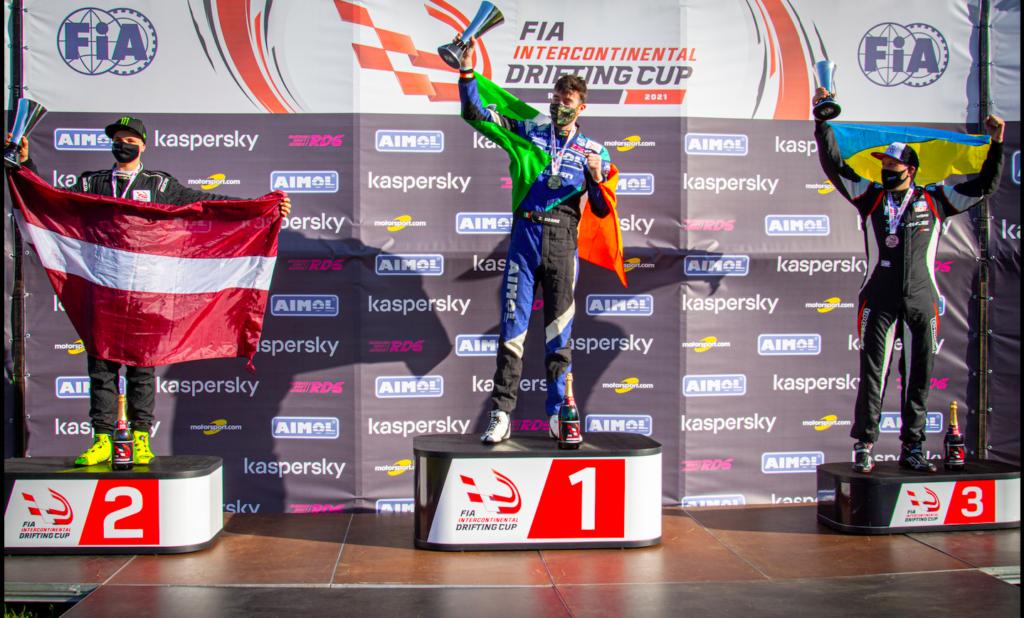 FIA IDC 2021: Джеймс Дин завоевывает кубок