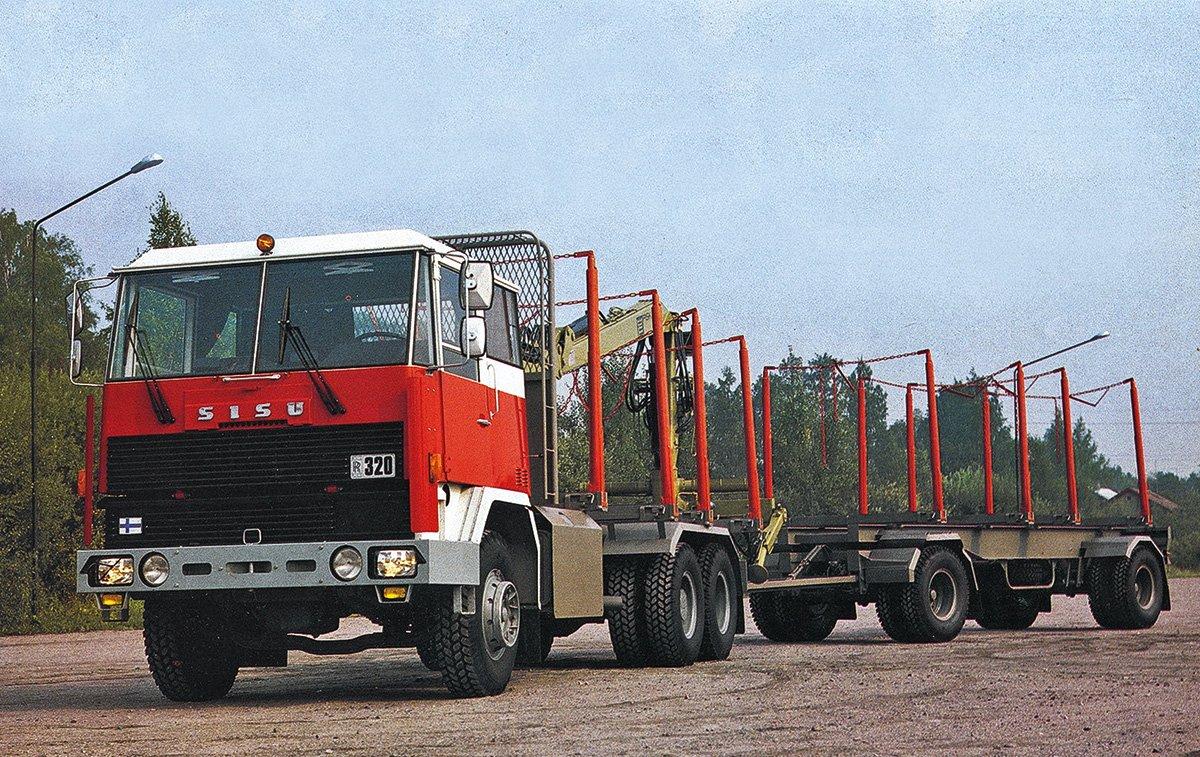 Эти финские грузовики обожали советские водители, а их кабины ставили на КАМАЗы – история Sisu Truck
