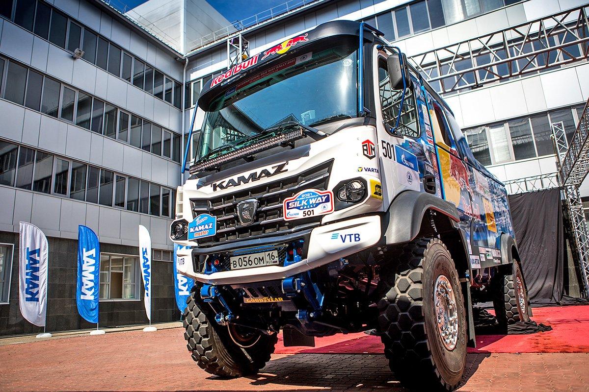 «КАМАЗ-мастер» рассекретил новый грузовик