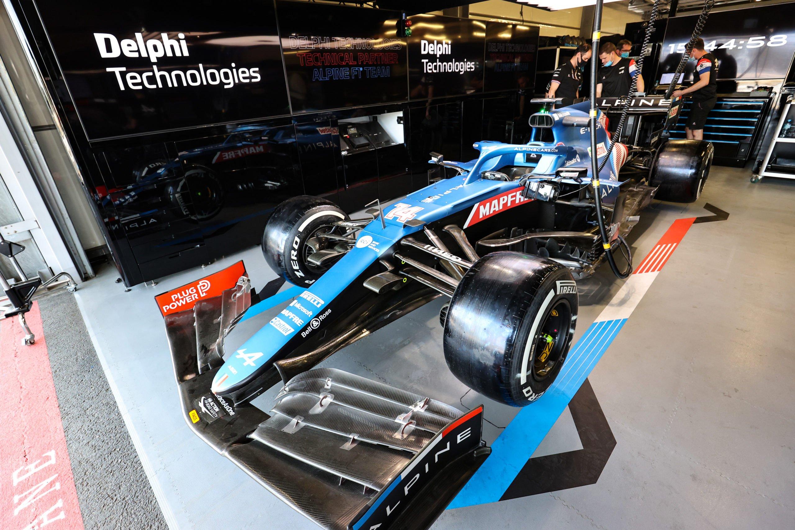 Alpine F1 и BorgWarner займутся разработкой электрокаров