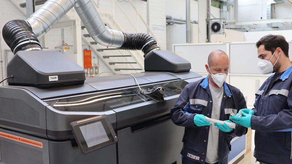 Volkswagen будет печатать запчасти на 3D принтере