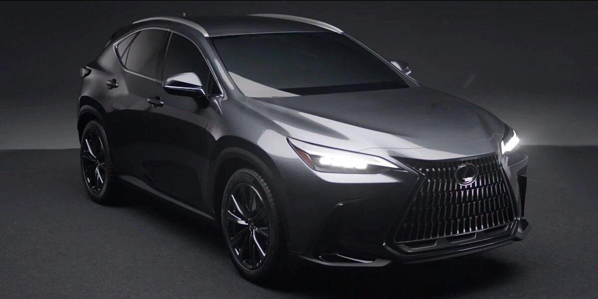 Lexus анонсировал премьеру нового кроссовера NX