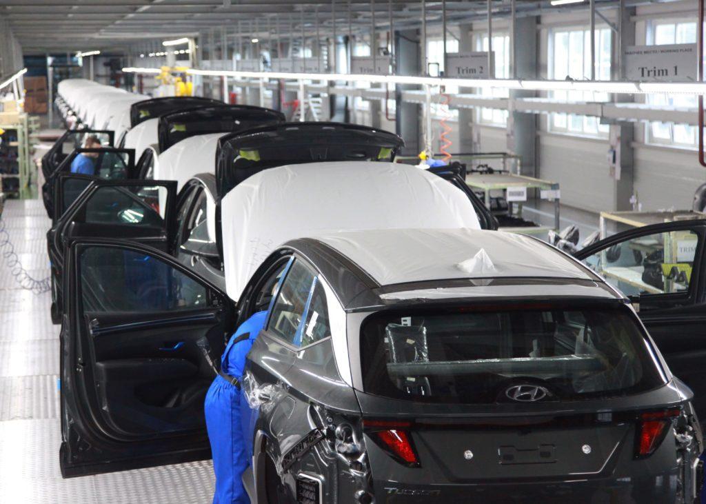 Новый кроссовер Hyundai Tucson встал на конвейер в России