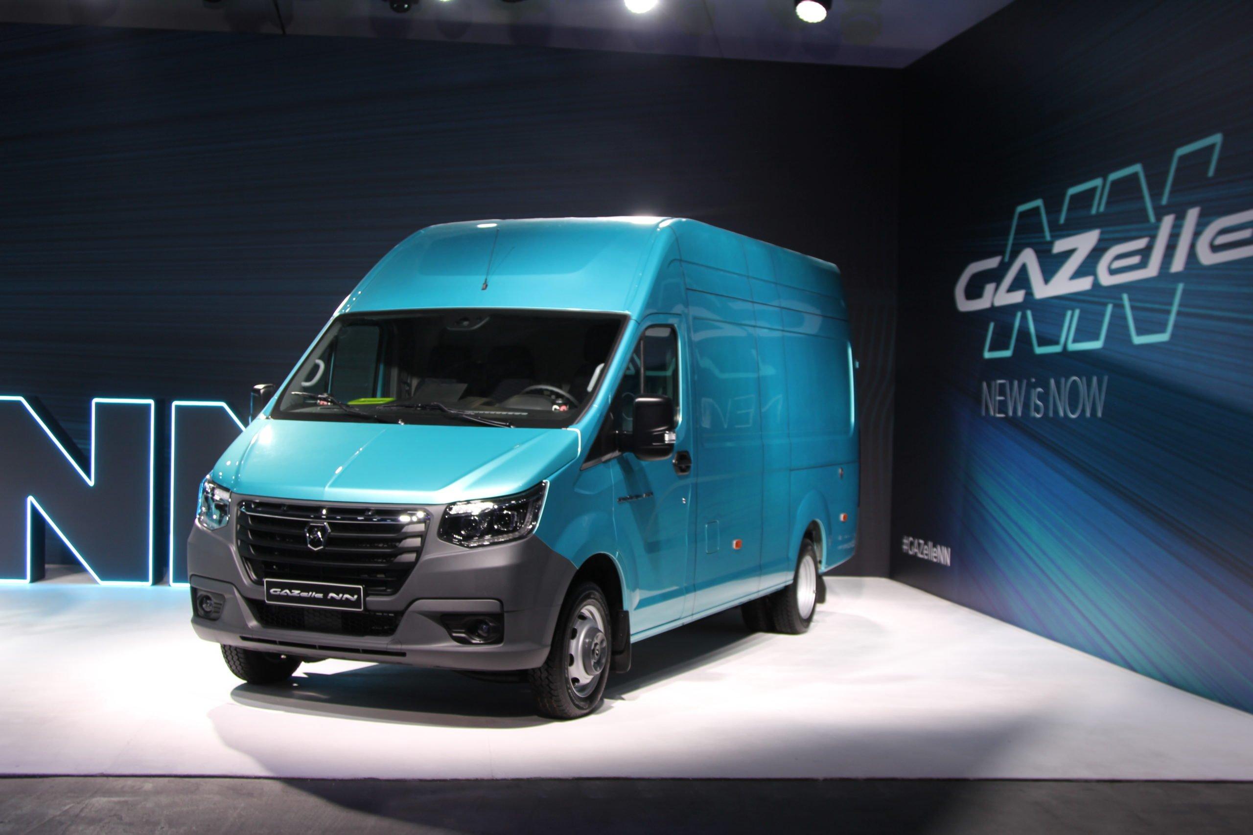 В России объявлен старт приема заказов на новый коммерческий автомобиль «Газель NN»