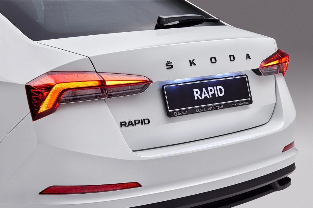 В России представили новую версию Skoda Rapid