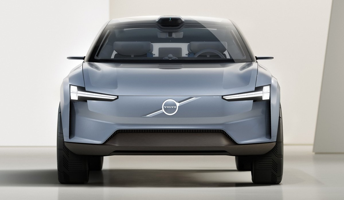 Новый Volvo XC90 представлен в виде необычного концепта