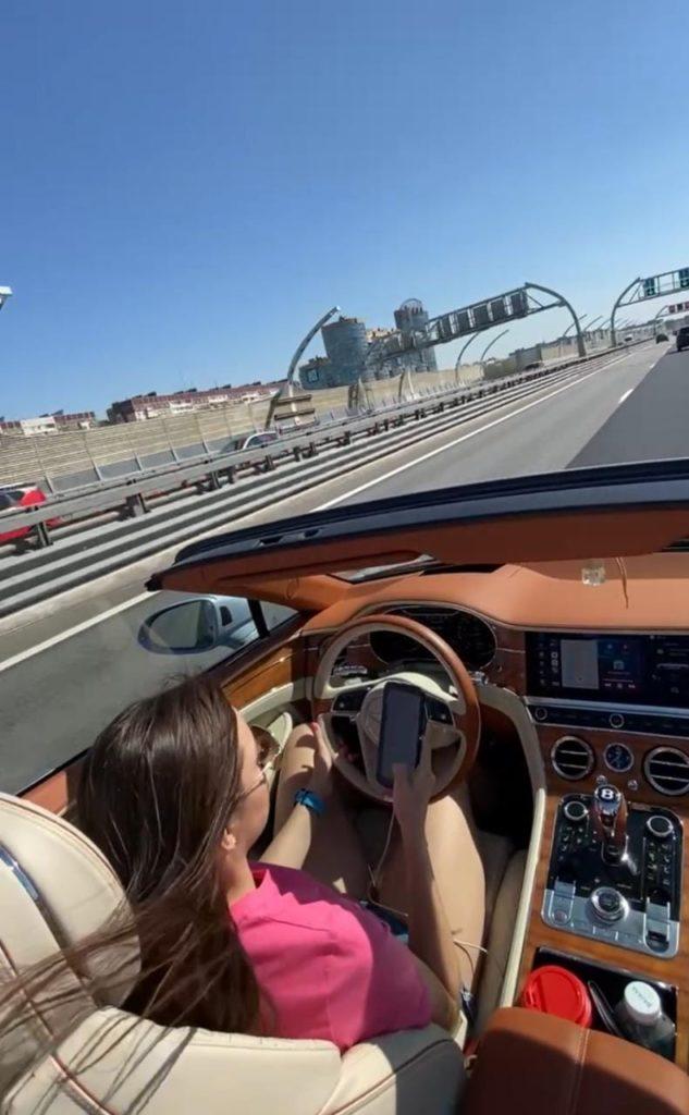 Купила Bentley Continental GTC за 25 миллионов: за год уже вложила почти два миллиона