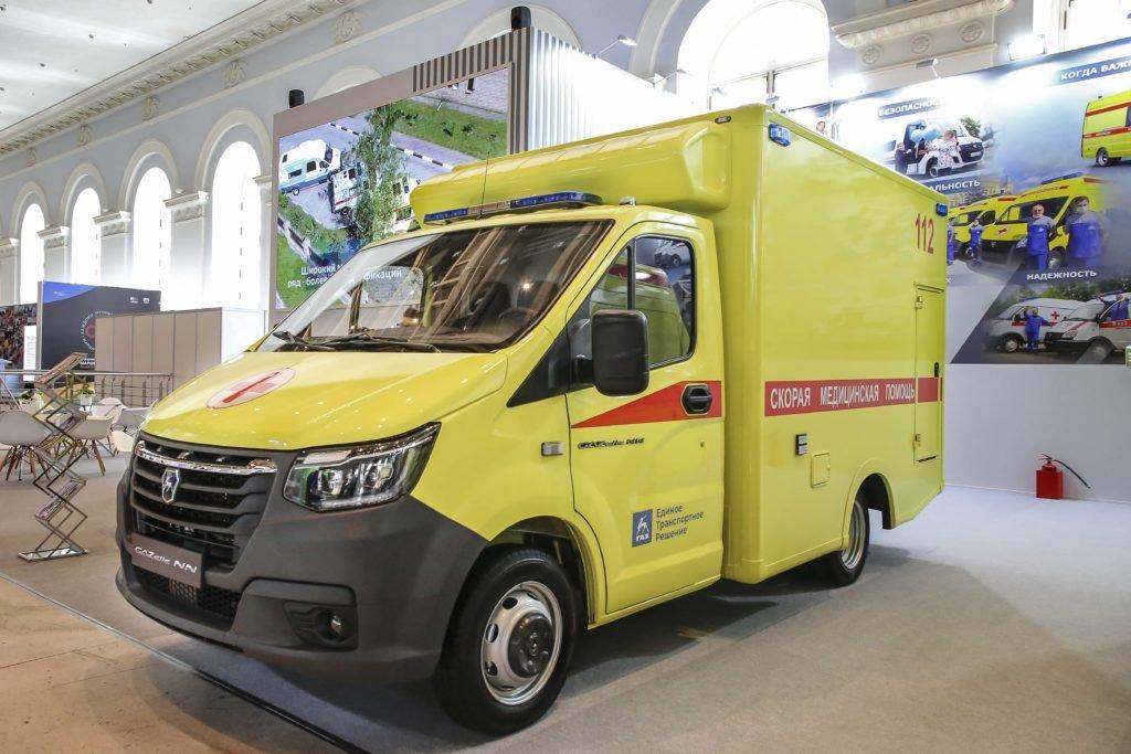 «Группа ГАЗ» показала в Москве «неотложки»: две машины сделаны на базе новинки, «Газель- NN»