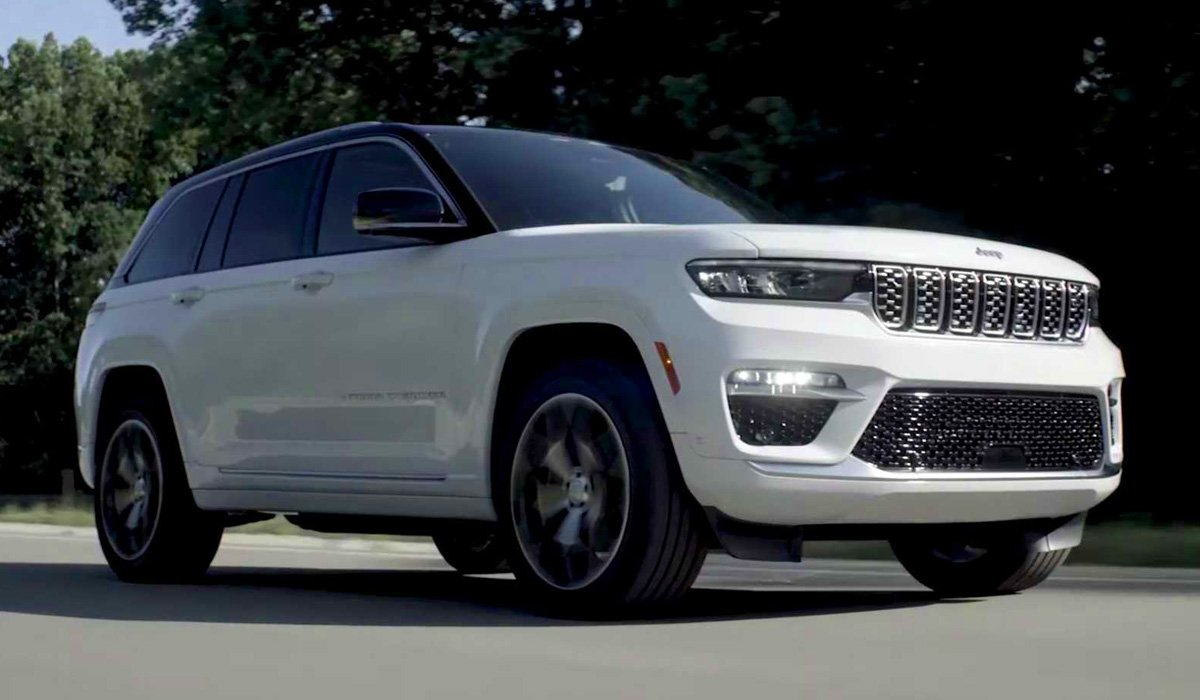 Представлен электрический Jeep Grand Cherokee