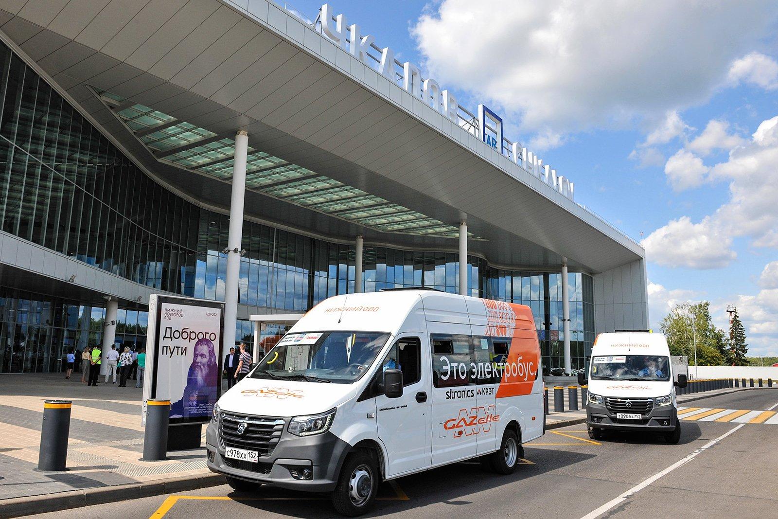 Электробусы «Газель e-NN» вышли на пассажирский маршрут в Нижнем Новгороде