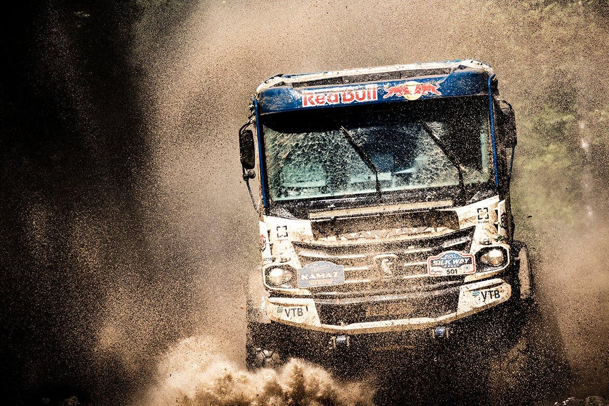 Гоночный КАМАЗ К5: как новый грузовик прошел первое боевое крещение
