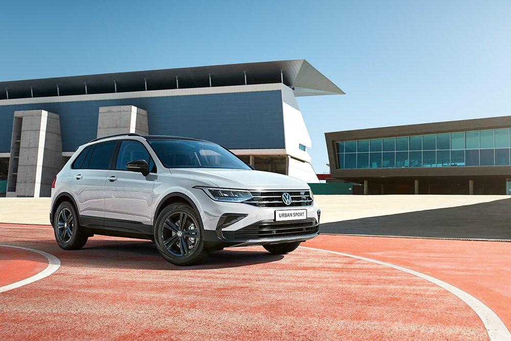 VW Tiguan получил новую комплектацию в России