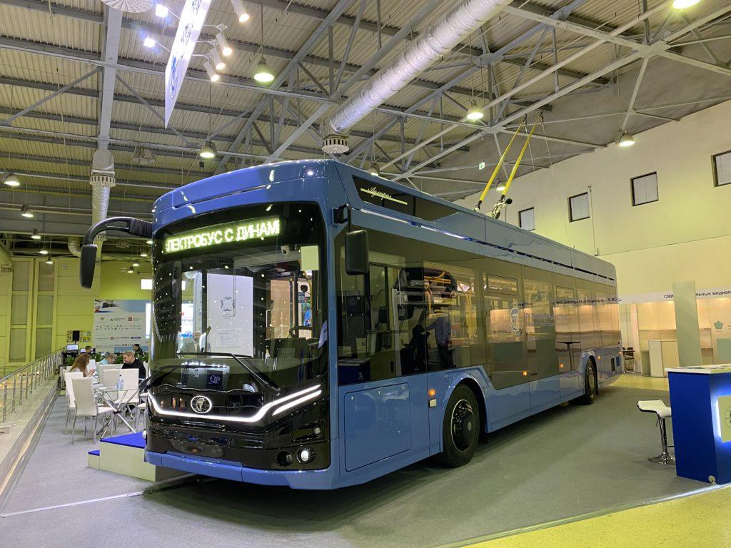 «ПК Транспортные системы» завершила поставку модернизированных троллейбусов «Адмирал» в Саратов