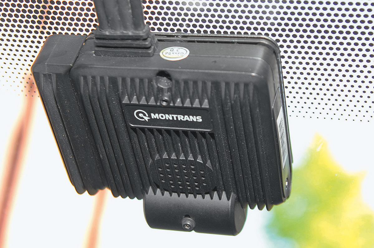 Поставили на «Ларгус» систему контроля водителя Montrans DVR за 80 000 рублей. Рассказываем, зачем она нужна