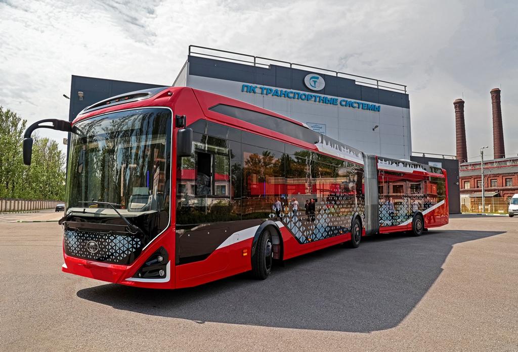 Премьеры автобусов на COMTRANS 2021