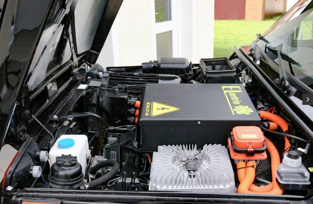 Немцы показали электрическую «Ниву» за 1,7 млн рублей
