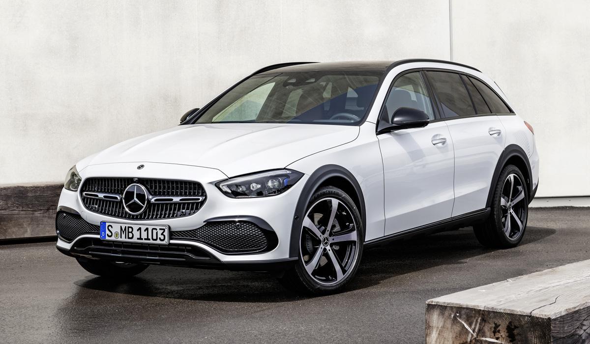 Mercedes-Benz C-class доработали для бездорожья