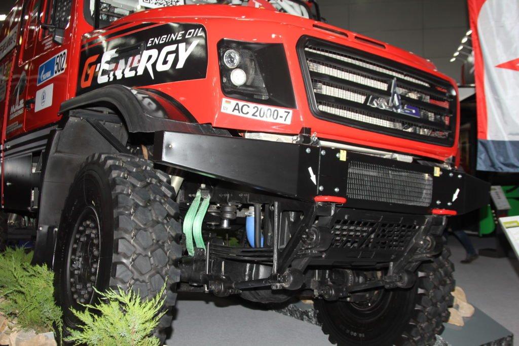 Новый гоночный МАЗ-6440РР впервые представлен на публике