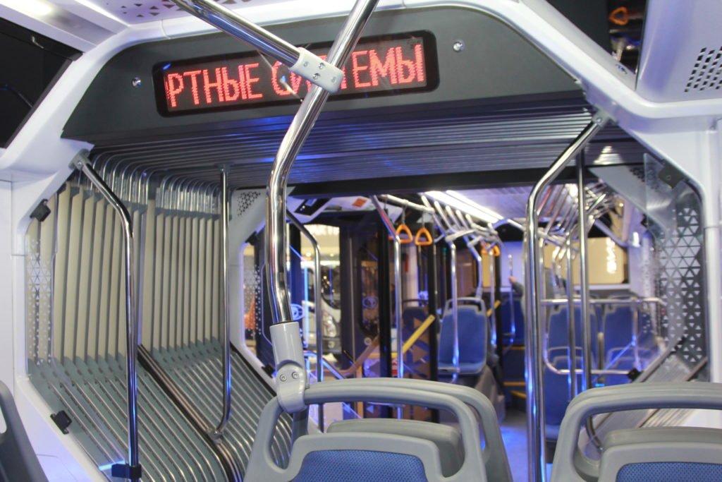 «Пионер» и гармошка: представлен первый в России сочлененный электробус