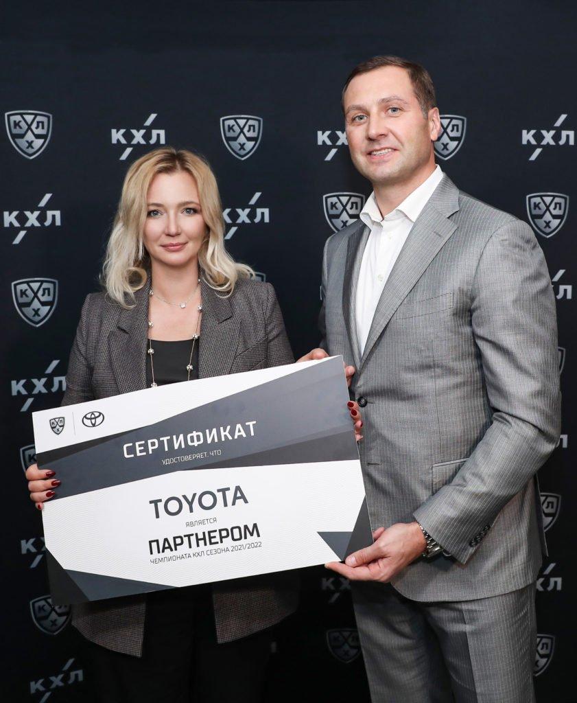 Тойота поддержит российский хоккей