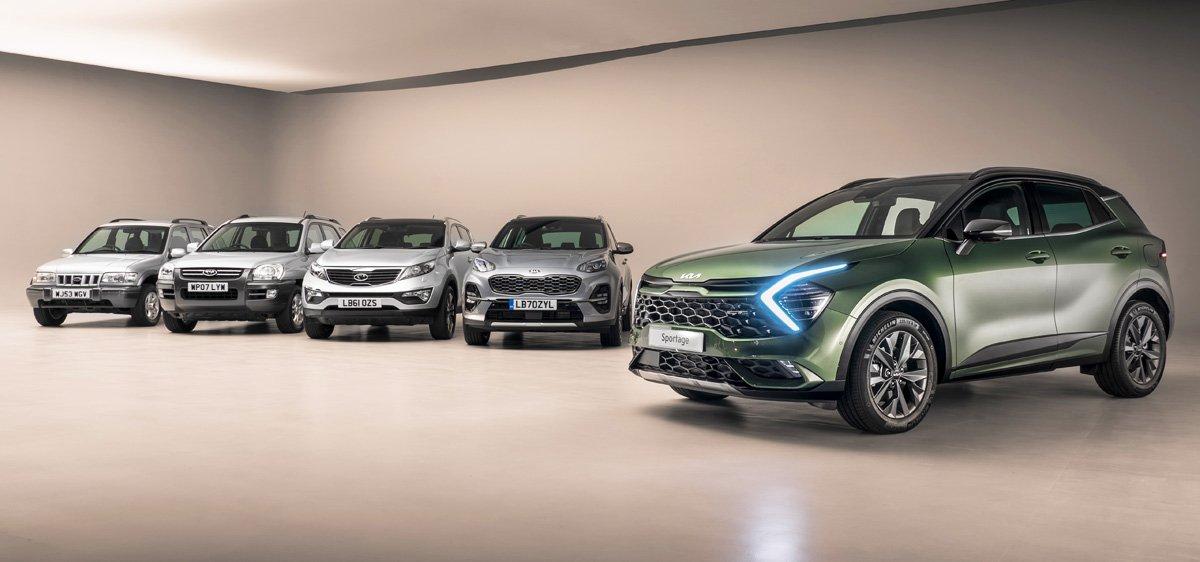 Представлен новый Kia Sportage для Европы: в чем разница