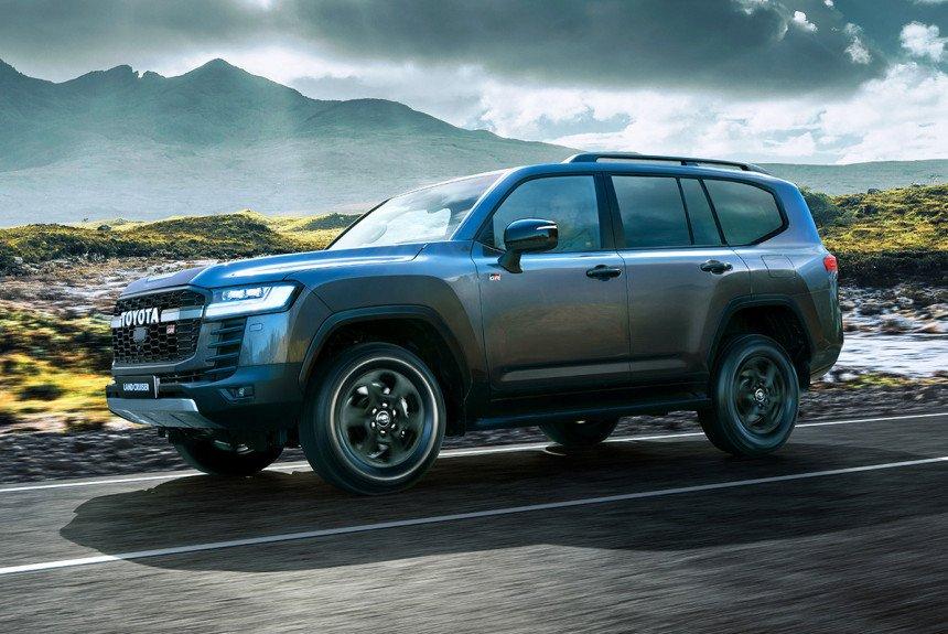 Toyota привезла в Россию самый крутой Land Cruiser 300: объявлены цены