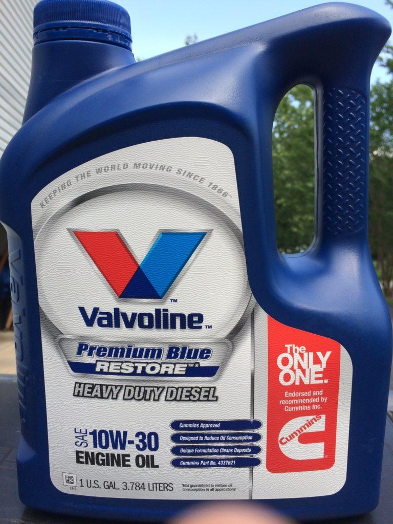 Моторное масло Valvoline Premium Blue позволит увеличить сервисный интервал