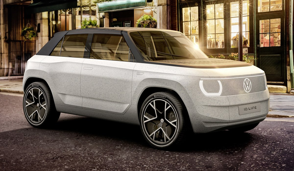 Показан прототип самого дешевого электромобиля Volkswagen