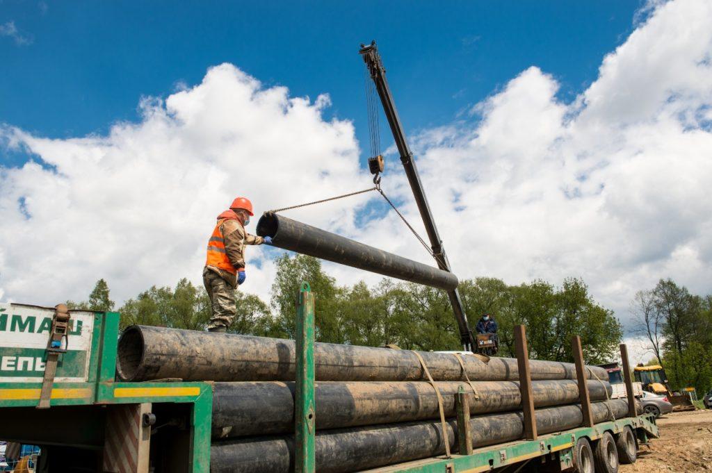 Строительству скоростной трассы М-12 помешали газопроводы – их перенесут